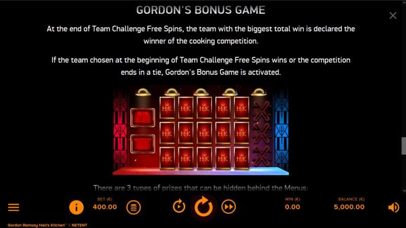 Gordon Ramsay Hell's Kitchen :: Bonus Feature