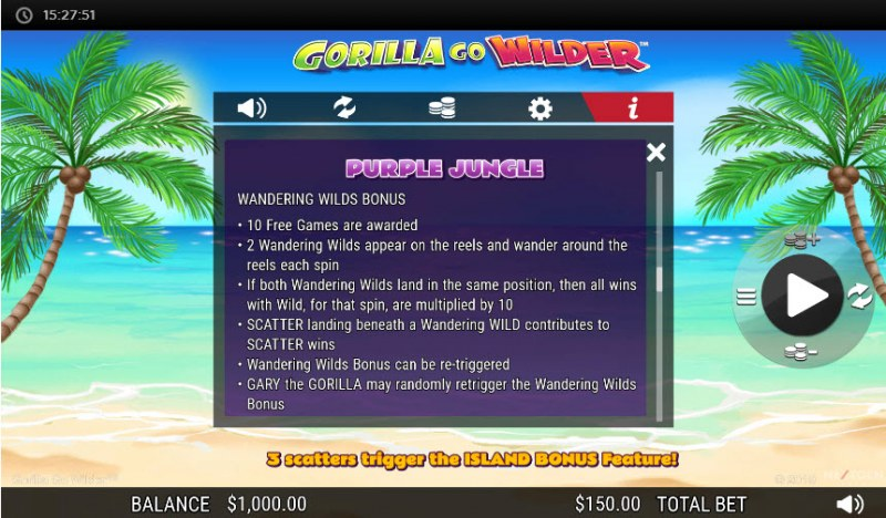 Gorilla Go Wilder :: Purple Jungle