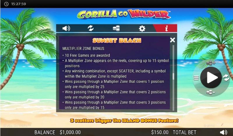 Gorilla Go Wilder :: Sunset Beach