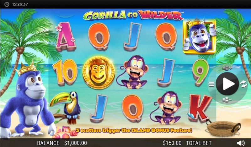 Gorilla Go Wilder :: Main Game Board
