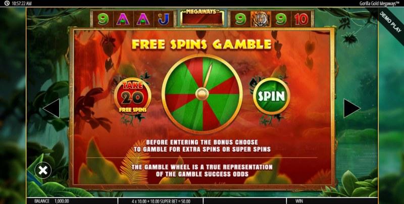 Gorilla Gold Megaways :: Free Spins Gamble