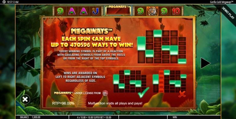 Gorilla Gold Megaways :: Megaways