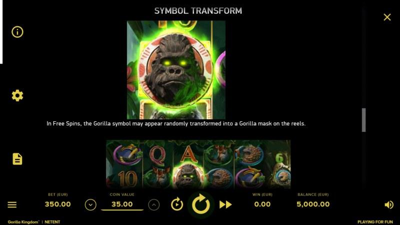 Gorilla Kingdom :: Feature Rules