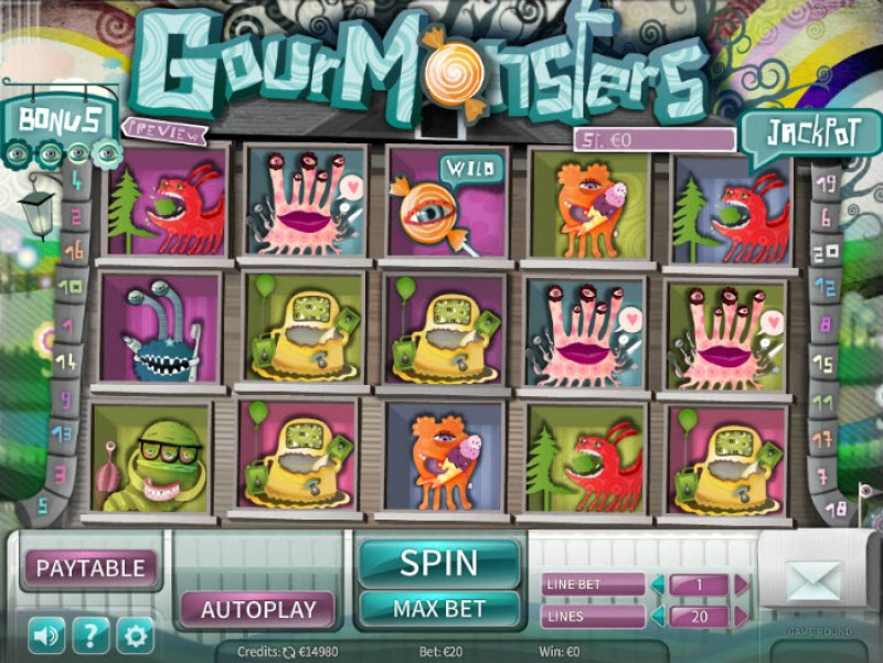 GourMonsters :: Main Game Board