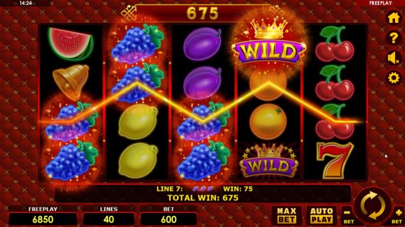 Grand Fruits :: Multiple winning paylines