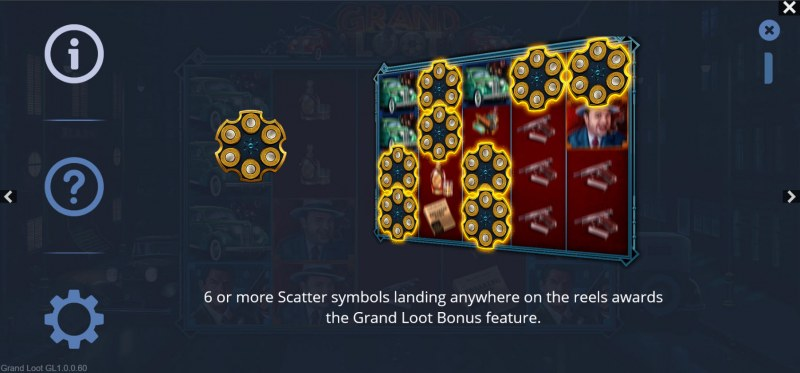 Grand Loot :: Scatter Symbol Rules