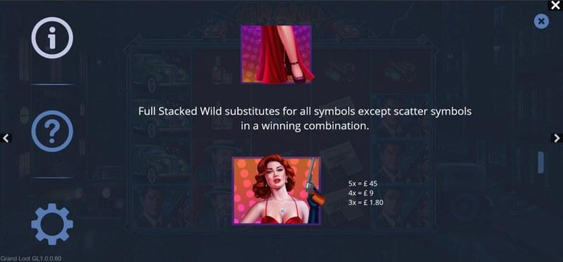 Grand Loot :: Wild Symbol Rules
