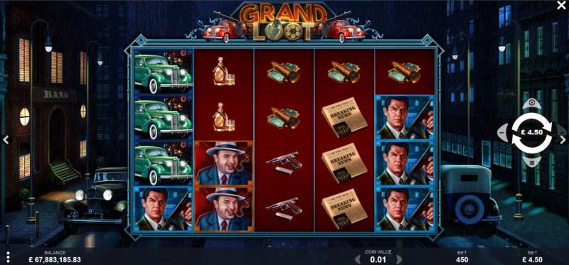 Grand Loot :: Main Game Board