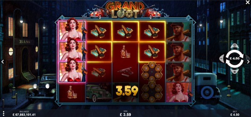 Grand Loot :: A four of a kind win