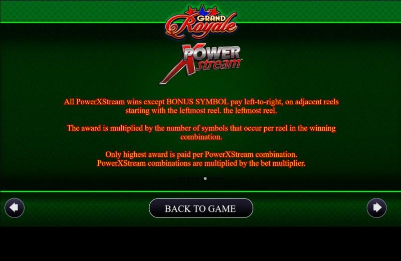 Grand Royale :: Power XStream