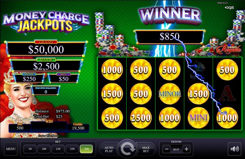 Grand Royale :: Total Feature Payout