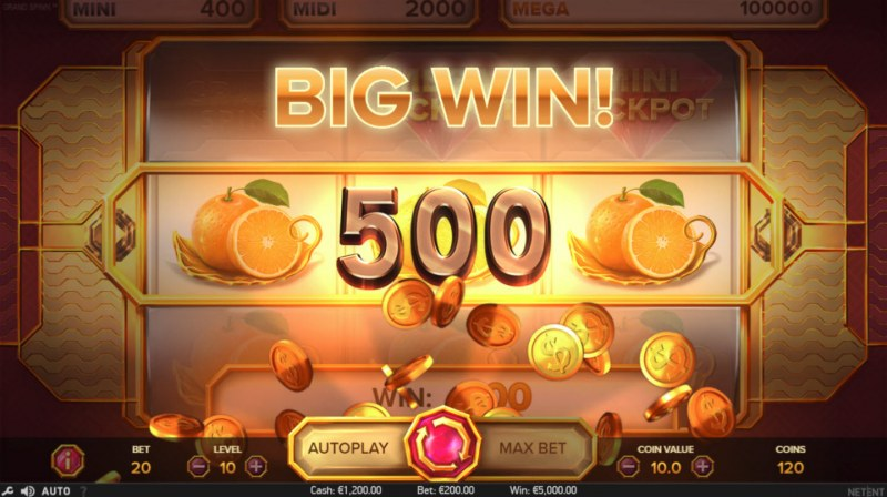 Grand Spinn :: Big Win