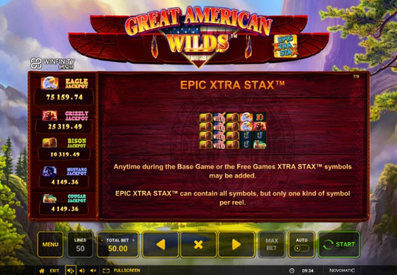 Great American Wilds :: Epic Extra Stax
