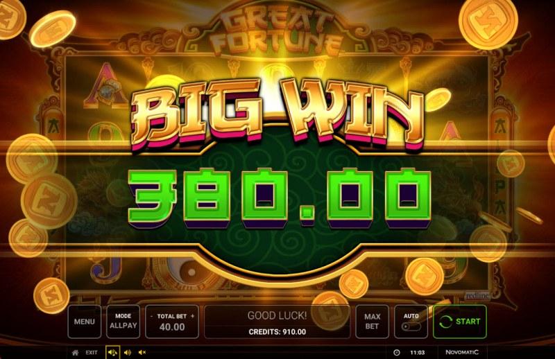 Great Fortune :: Big Win