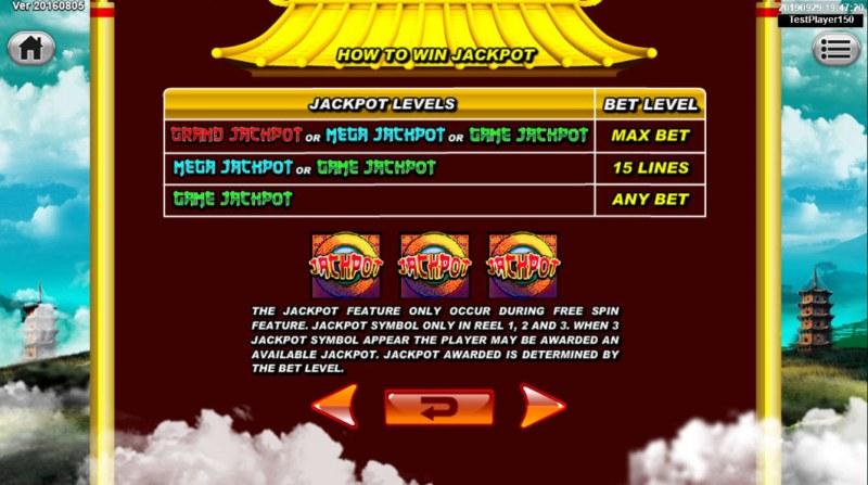 Great Stars :: Jackpot Rules