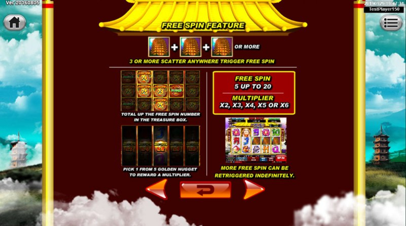 Great Stars :: Free Spins Rules