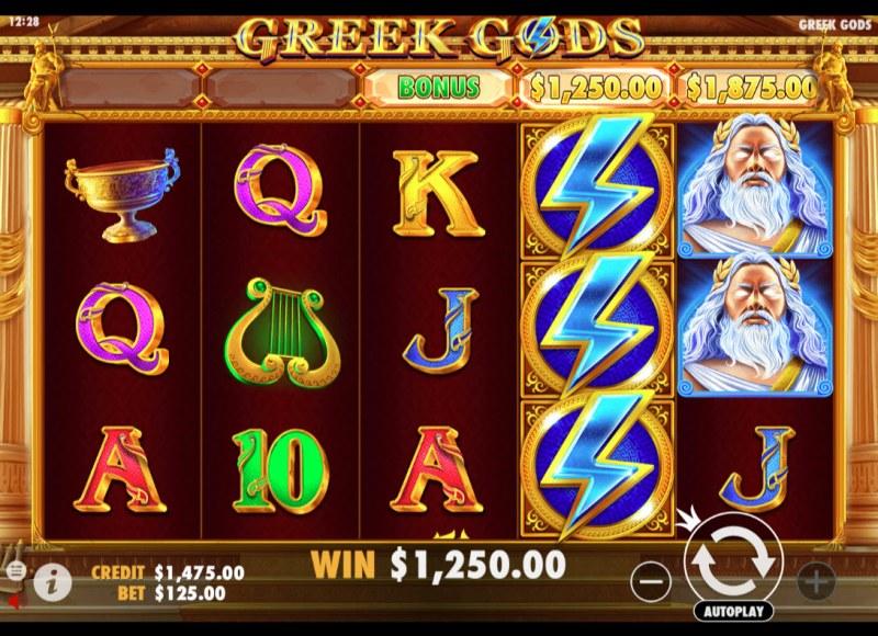 Greek Gods :: Big Win