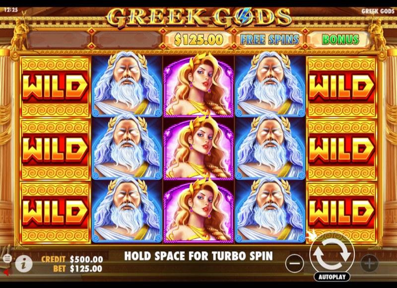 Greek Gods :: Main Game Board