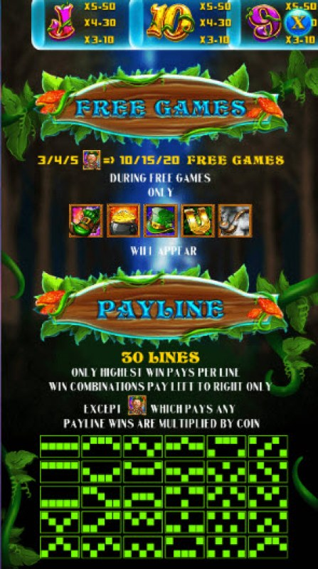 Green Leprechaun :: Free Spins Rules