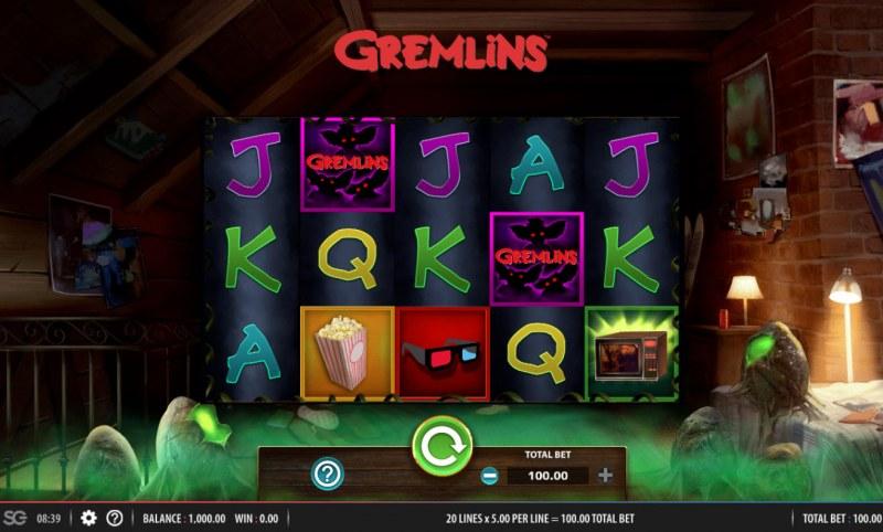 Gremlins :: Main Game Board