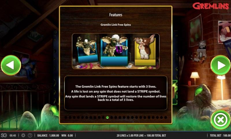 Gremlins :: Gremlin Link Free Spins