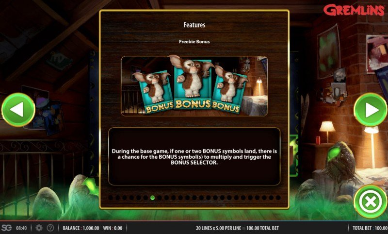 Gremlins :: Freebie Bonus