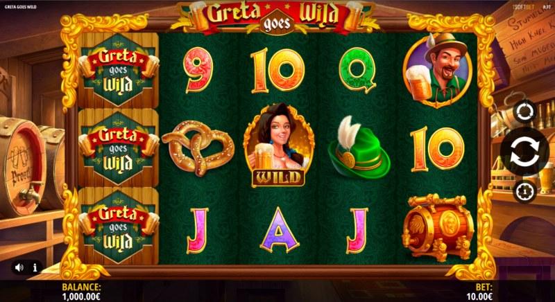 Greta Goes Wild :: Main Game Board