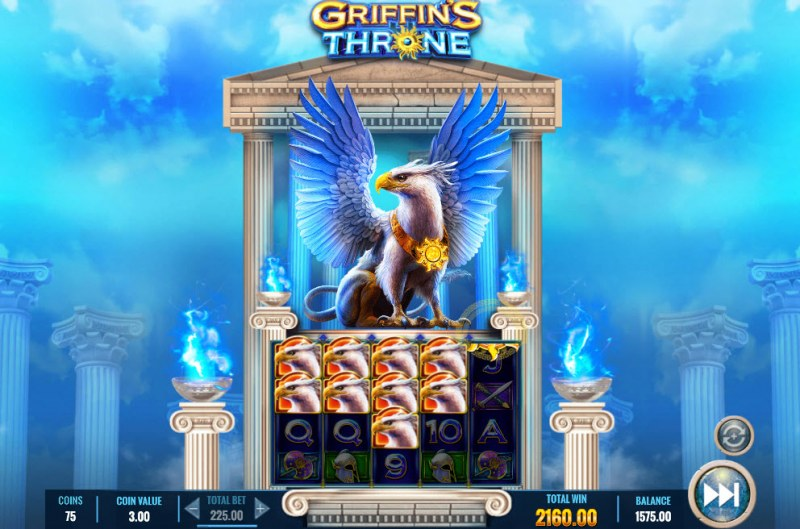 Griffin's Throne :: Multiple winning combinations lead to a big win