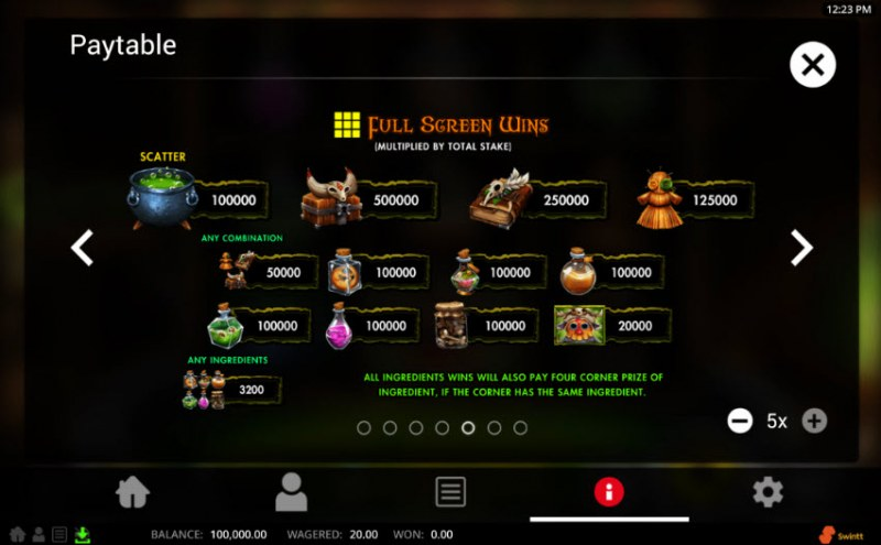 Grockel's Cauldron :: Full Screen Wins