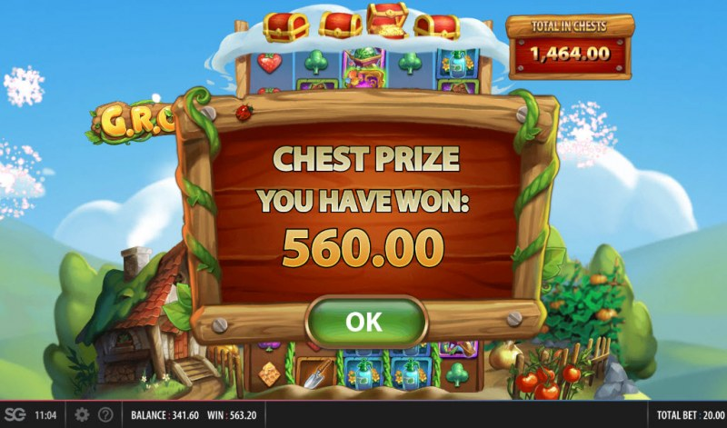 G.R.O.W. :: Chest prize awarded