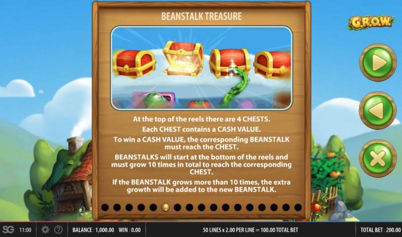 G.R.O.W. :: Beanstalk Treasure