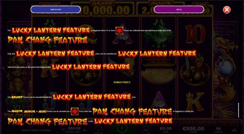Guan Yu :: Lucky Lantern Feature