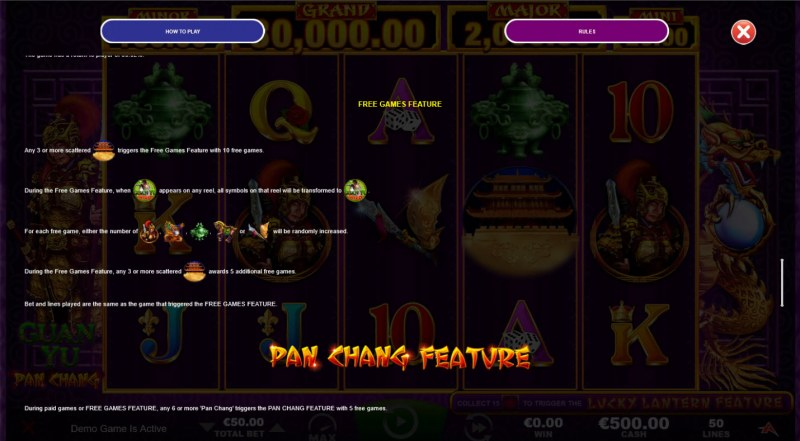 Guan Yu :: Free Game Rules