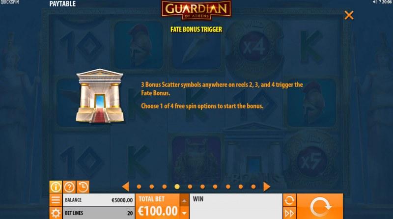 Guardian of Athens :: Fate Bonus Trigger