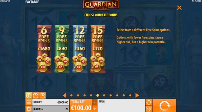 Guardian of Athens :: Choose Your Fate Bonus
