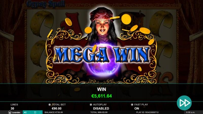 Gypsy Spell :: Mega Win