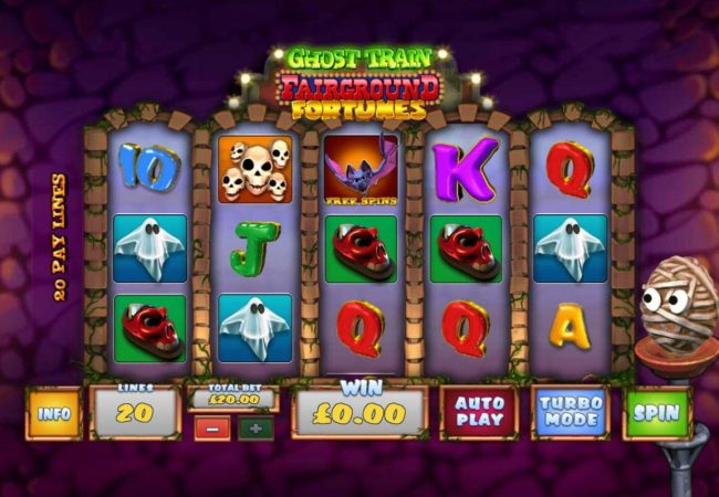 Play slots at William Hill Casino Club: William Hill Casino Club featuring the Video Slots Ghost Train Fairground Fortunes with a maximum payout of $2,000