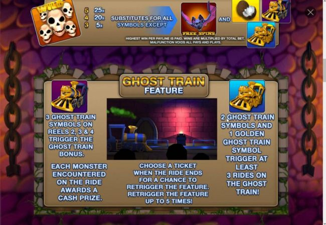 Ghost Train Feature Rules