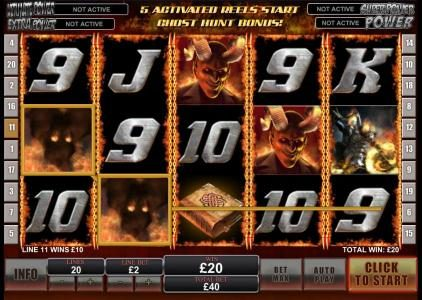City Tower featuring the Video Slots Ghost Rider with a maximum payout of $500,000