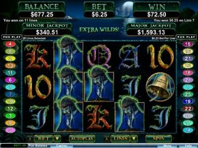 Play slots at Slots Empire: Slots Empire featuring the Video Slots Ghost Ship with a maximum payout of $250,000