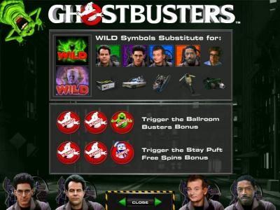 Powerspins featuring the Video Slots Ghostbusters with a maximum payout of $250,000