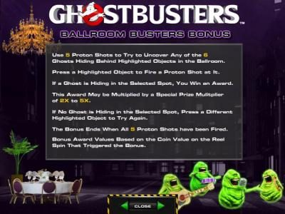 Leo Vegas featuring the Video Slots Ghostbusters with a maximum payout of $250,000
