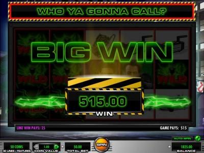 Sun Play featuring the Video Slots Ghostbusters with a maximum payout of $250,000