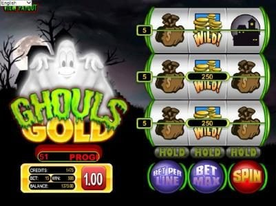 Rich featuring the Video Slots Ghouls Gold with a maximum payout of $500
