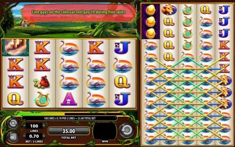 Giant's Gold :: Multiple winning paylines