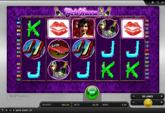 Play slots at Cobra: Cobra featuring the Video Slots Girls Wanna with a maximum payout of $10,000
