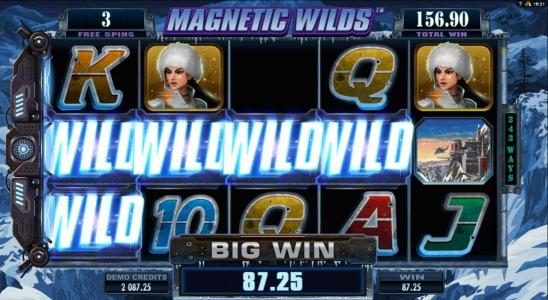 Omnia featuring the Video Slots Girls with Guns 2-Frozen Dawn with a maximum payout of $109,250