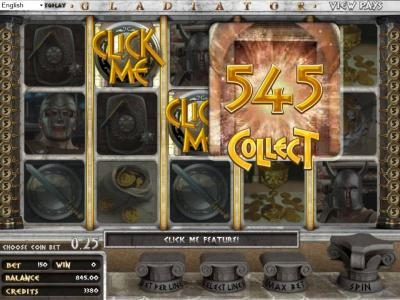 Play slots at Avalon78: Avalon78 featuring the Video Slots Gladiator with a maximum payout of $2,000