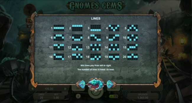 ReelTastic featuring the Video Slots Gnomes Gems with a maximum payout of $5,000