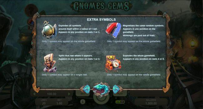 Gnomes Gems :: Extra Symbols Rules